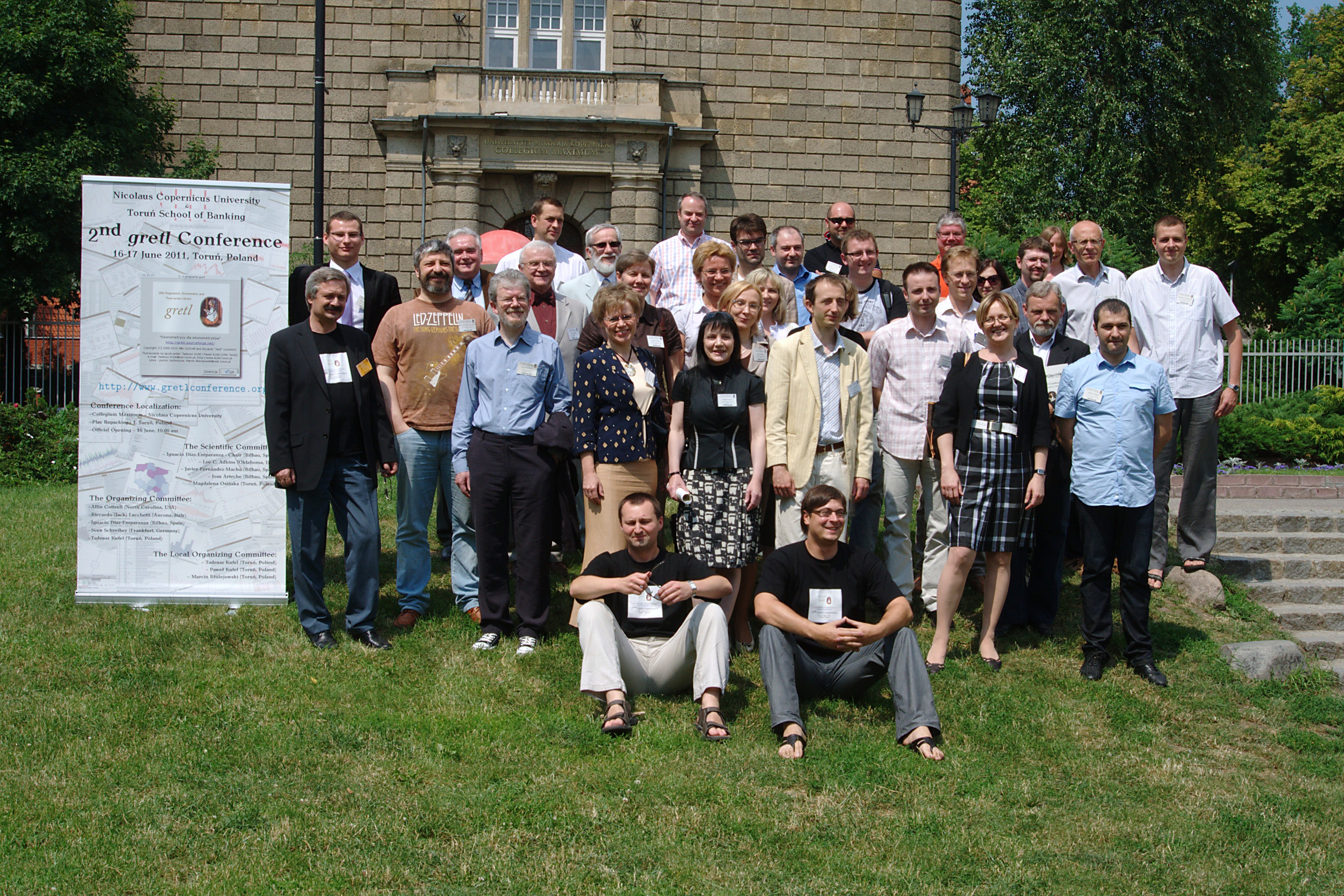 2nd GRETL Conference, 16-17.06.2011, Torun, Poland